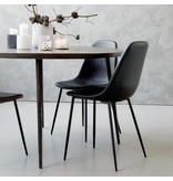 House Doctor Forms stoel zwart set van 2 stoelen