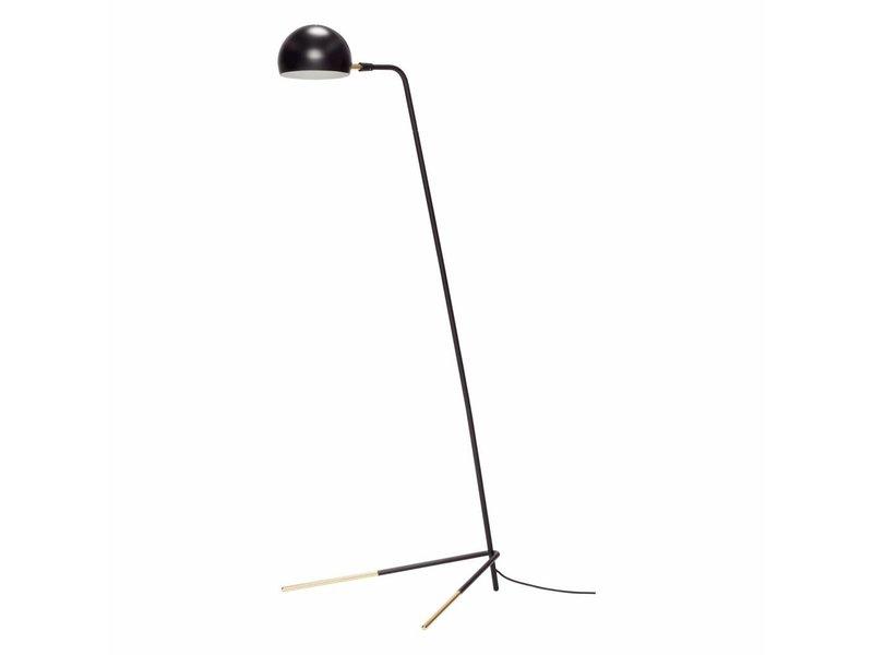 Hubsch Vloerlamp zwart 62x80xh150cm
