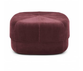 Normann Copenhagen Grand cirque rouge Pouf