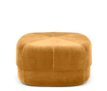 Normann Copenhagen Circus Pouf Large yellow