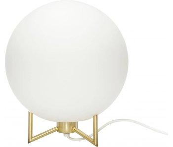 Hubsch Brass Bordlampe