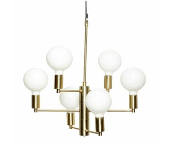 Hubsch Hanging lamp brass