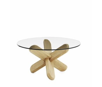Normann Copenhagen Ding coffee table oak