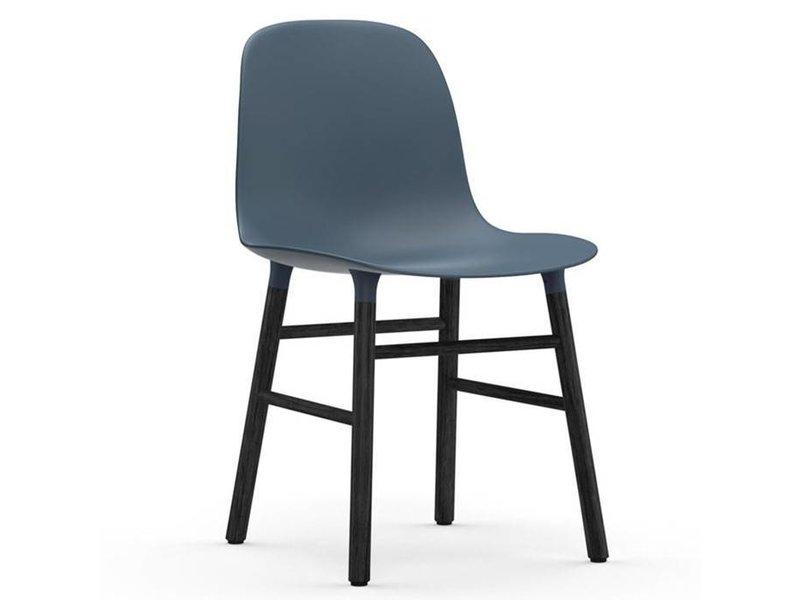 Normann Copenhagen Form Chair stoel zwart blauw