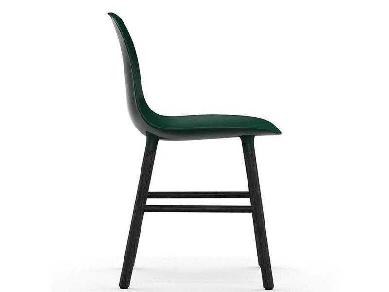Normann Copenhagen Form Chair stoel zwart groen