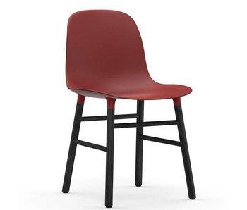 Normann Copenhagen Form Chair black red
