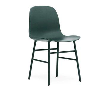 Normann Copenhagen Form Chair stoel staal groen