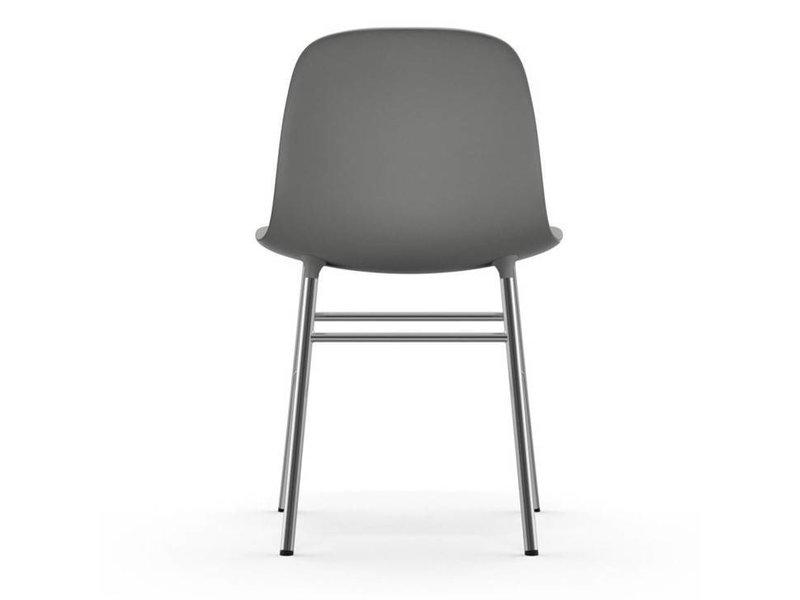 Normann Copenhagen Form Chair stoel chrome grijs