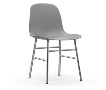 Normann Copenhagen Form Chair chrome grey