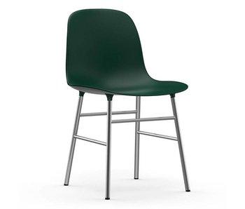 Normann Copenhagen Forma de silla de cromo verde