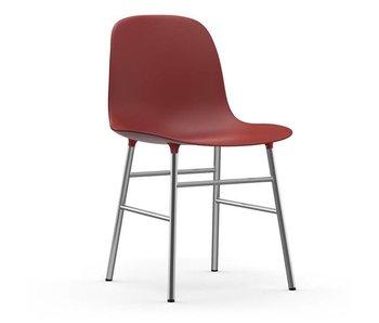 Normann Copenhagen Form Chair krom rød