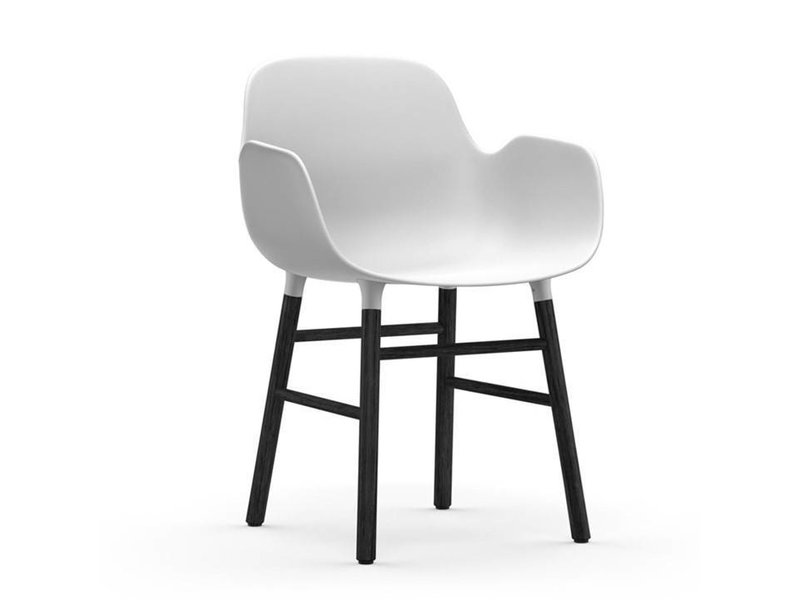 normann copenhagen form armchair black white