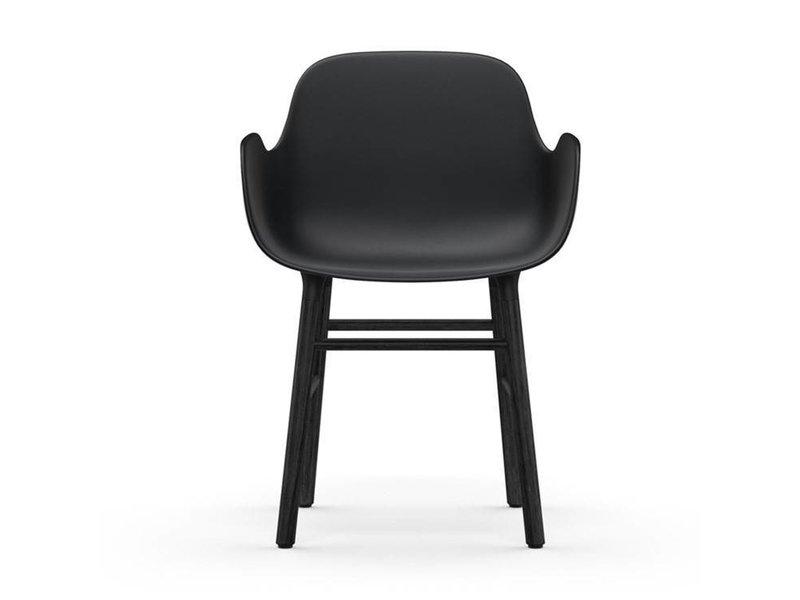 Normann Copenhagen Form Armchair stoel zwart