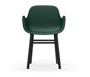 Normann Copenhagen Forma Butaca asiento verde negro
