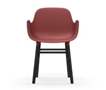 Normann Copenhagen Forma Butaca asiento rojo negro