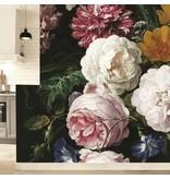 KEK Amsterdam Golden Age Flowers III blommig tapet