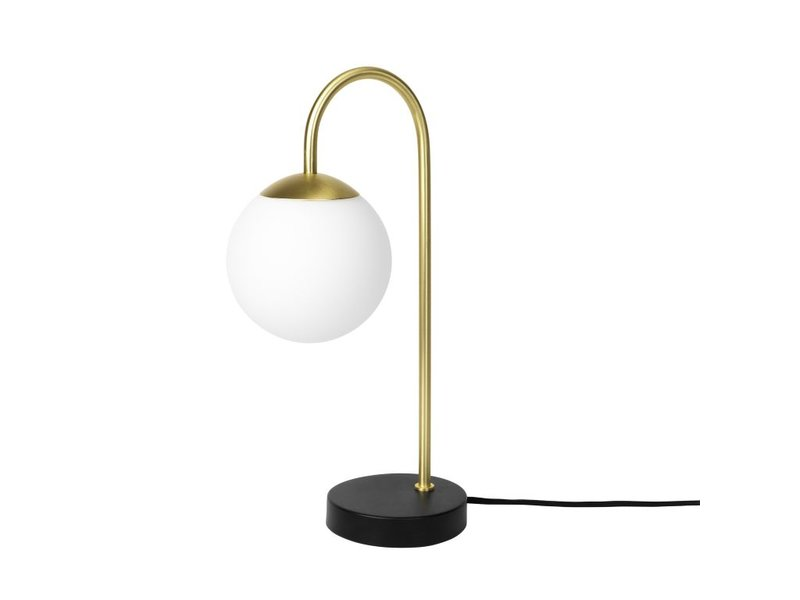 Broste Copenhagen Caspa messing bordlampe