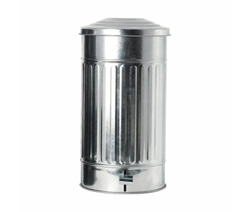 House Doctor Garbage can zinc