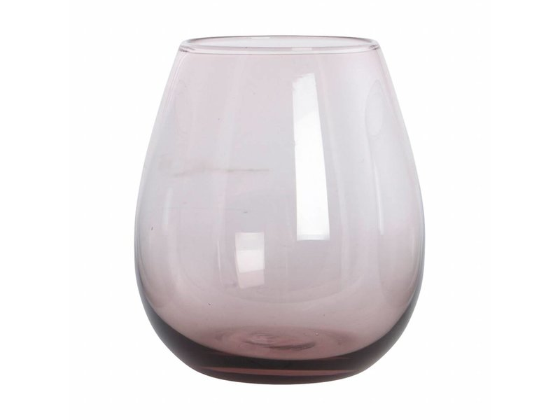 House Doctor Ball waterglas paarse 10cm