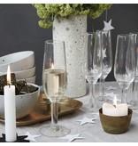 House Doctor Nouveau champagne glas ø7,3x22cm