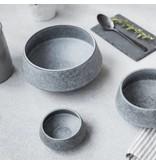House Doctor Grey Stone schaal grijs ø18x10cm
