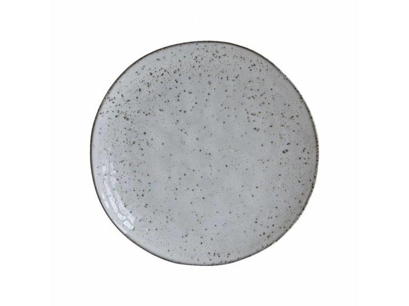 House Doctor Rustic bord grijs ø20,5x2cm