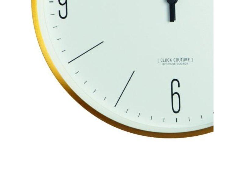 House Doctor Clock Couture klok goud