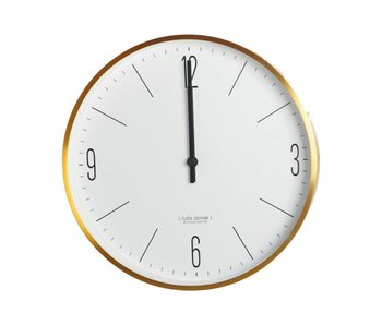 House Doctor Clock Couture klok goud