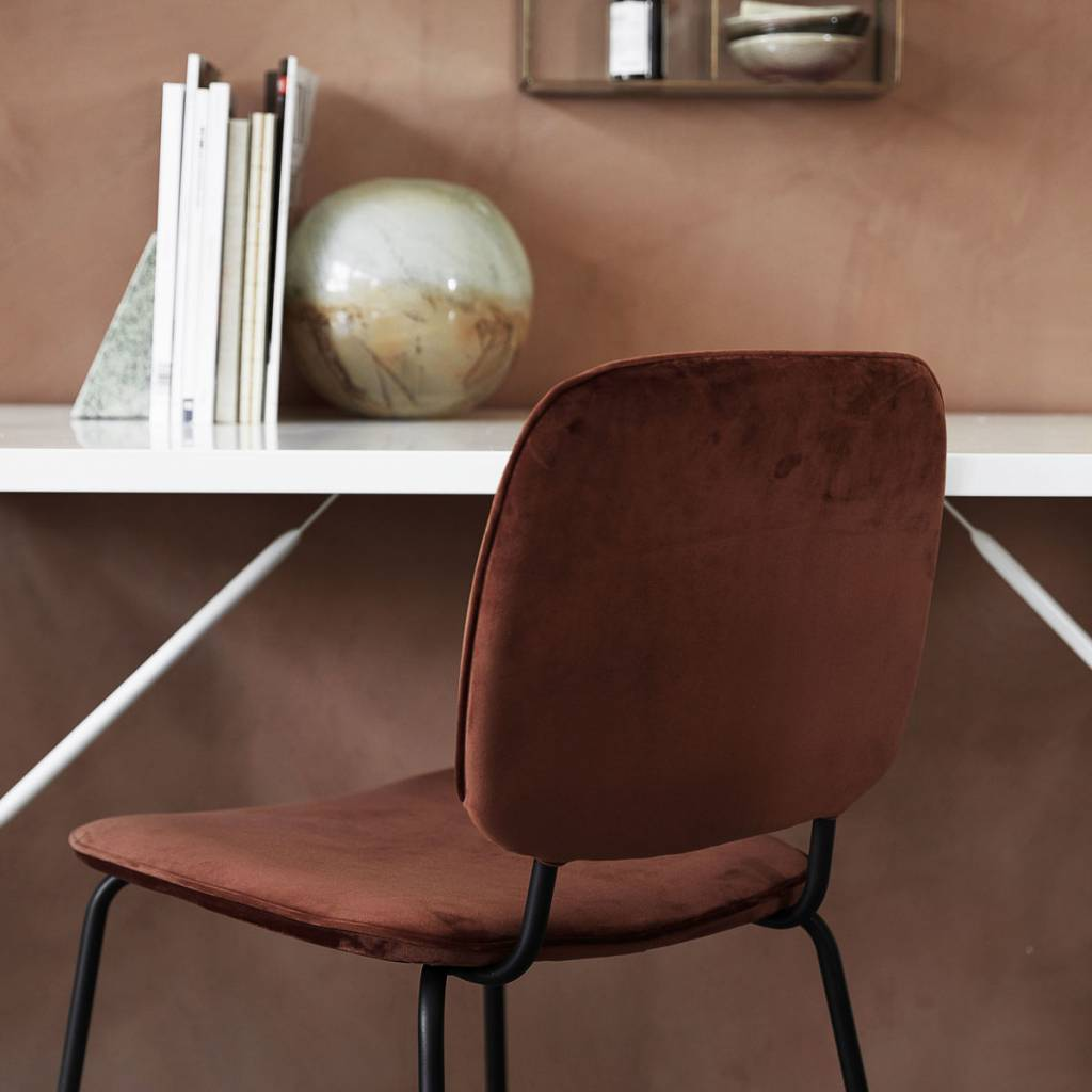 House Doctor Comma chair rust LIVING AND CO.