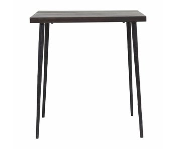 House Doctor Previsto tavolo in legno nero