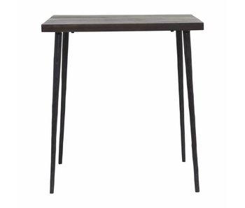 House Doctor Tänkt svart trä bord