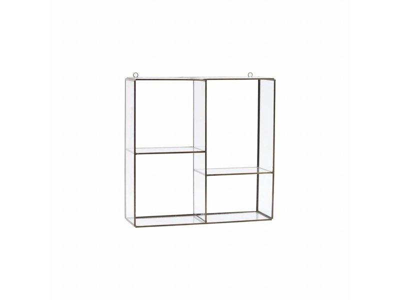 House Doctor Keeper glasväggenhet 33x33x11cm