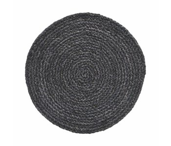 House Doctor Circle placemat gray / blue