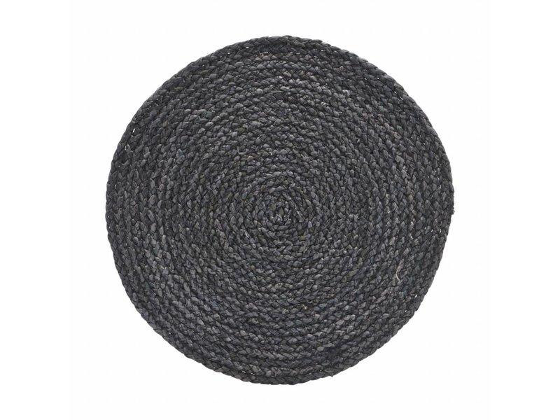 House Doctor Circle placemat grijs/blauw 38cm
