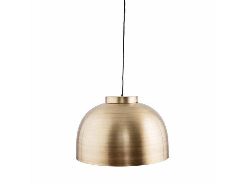 House Doctor Bowl hanglamp messing Ø50x33,5cm
