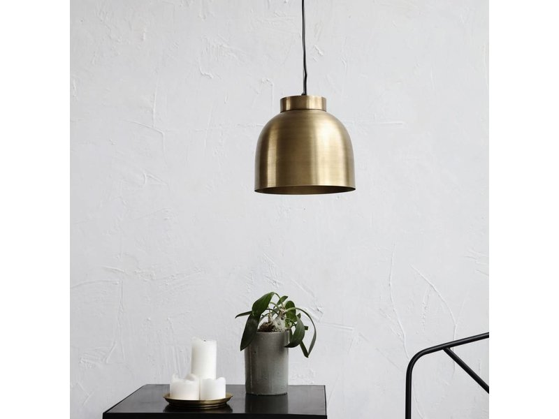 House Doctor Bowl hanglamp messing Ø22x20cm