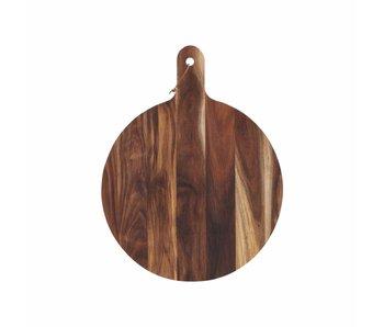 House Doctor Akacie breadboard træ Ø50x1,5cm
