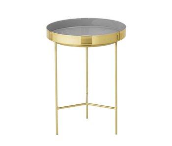 Bloomingville Tray table gray Ø30x40cm