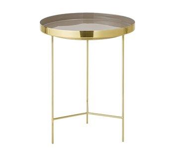 Bloomingville Tray table brown Ø40x50cm