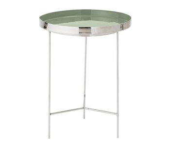Bloomingville Tray table green Ø40x50cm
