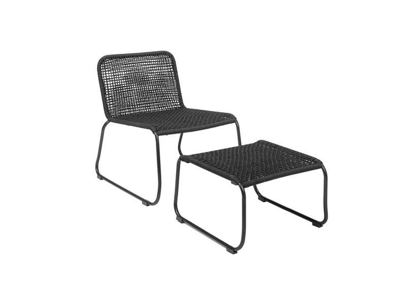 Stupendous Lounge Chair Schwarz 58X77X73Cm Creativecarmelina Interior Chair Design Creativecarmelinacom