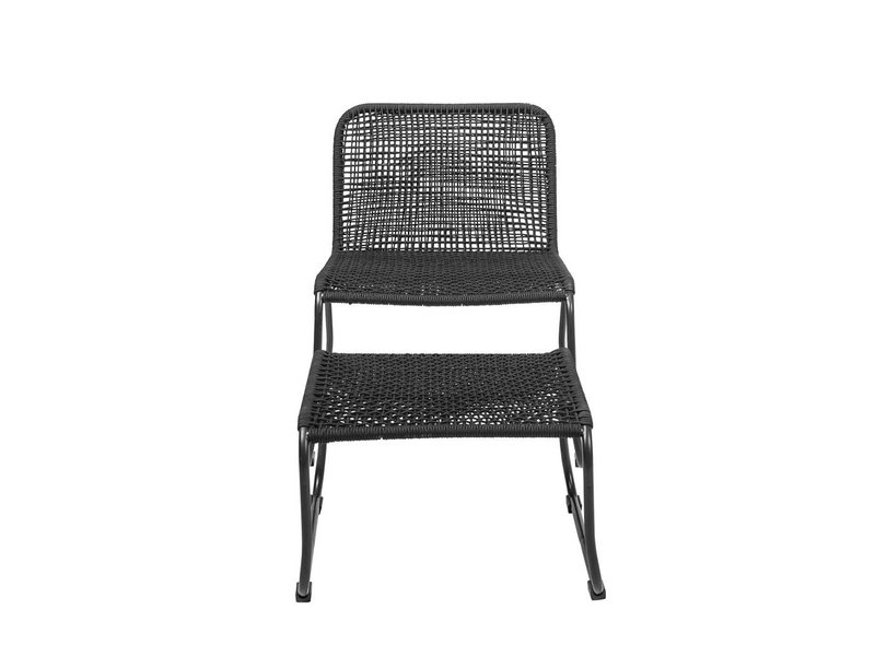 Bloomingville Lounge Chair svart 58x77x73cm
