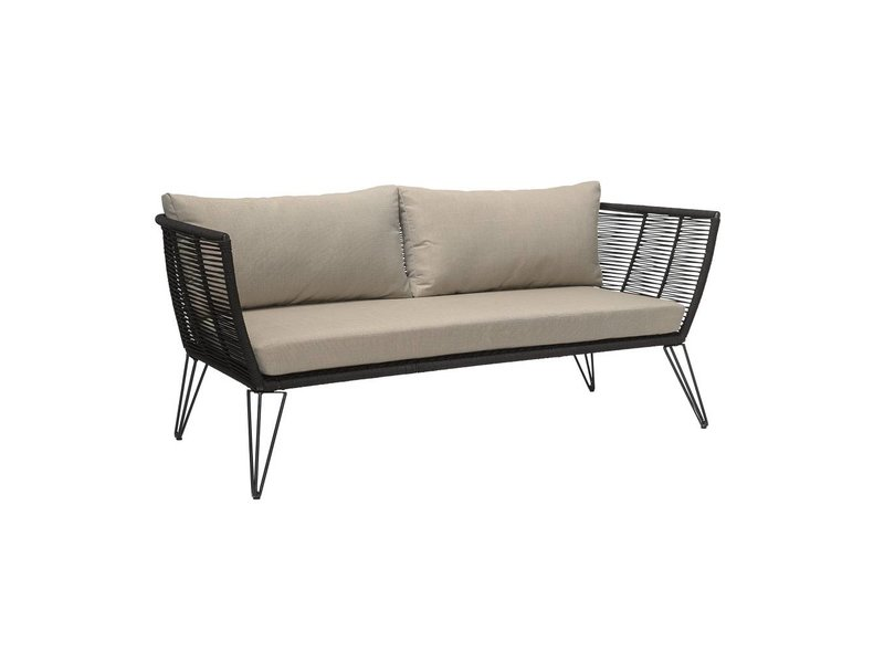 Bloomingville Sofa sorte 175x72x74 cm