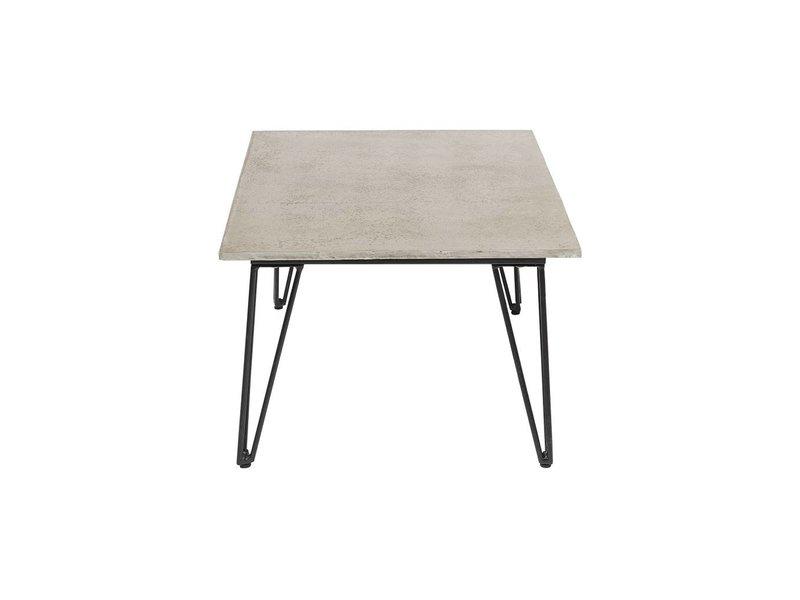 Bloomingville Koffietafel grijs 90x42x60cm