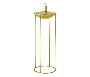 Bloomingville Olie lampe guld Ø19x57cm