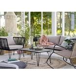 Bloomingville Lounge Chair sort 87x72x74cm