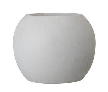 Bloomingville Flower pot gray Ø25x20cm