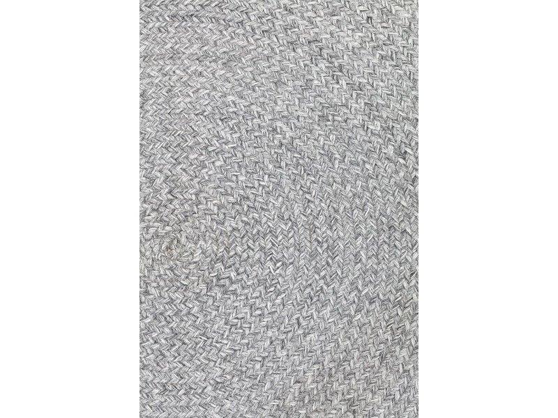 Bloomingville Tæppe runde grå ø120cm