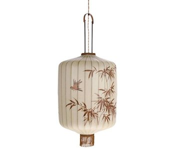 HK-Living Lykta lampan L Creme 42x42x92cm
