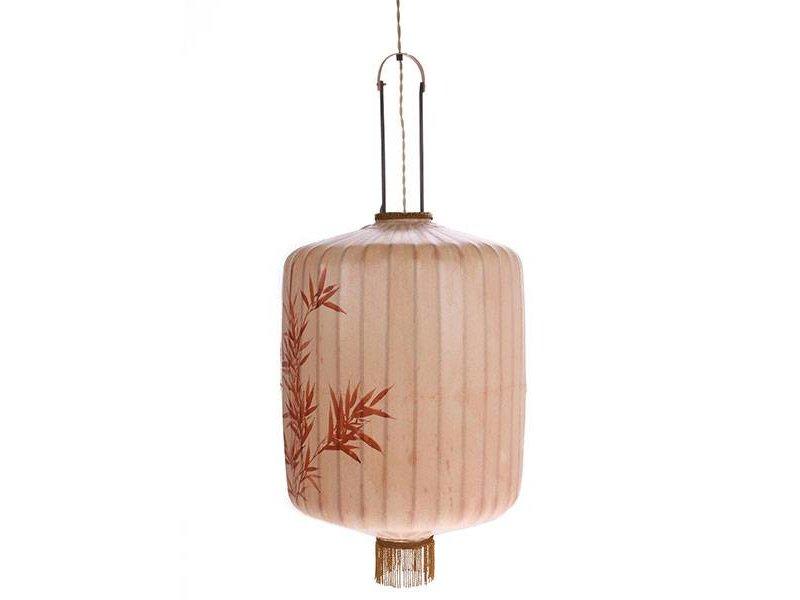 HK-Living Lantaarn lamp XL huidskleur 45x45x92cm
